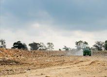 Место захоронения отходов в Таиланде стоковая фотография rf