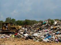Место захоронения отходов в Таиланде стоковое изображение rf