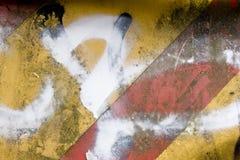 место знака конструкции grungy ржавое Стоковая Фотография