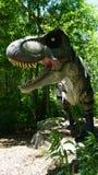Место динозавра на деревне искусства природы в Montville, Коннектикуте Стоковое Изображение