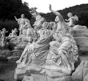 Место Казерты garten fountian Италия Стоковое Фото