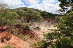 Место каменного век Isimila стоковые изображения rf