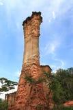 Место каменного век Isimila стоковые фотографии rf