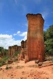 Место каменного век Isimila стоковое изображение rf