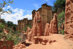 Место каменного век Isimila стоковая фотография rf