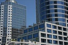 Место Канады, Ванкувер BC Стоковые Фотографии RF