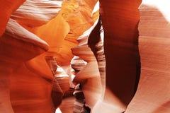 место каньона антилопы Стоковое Изображение RF