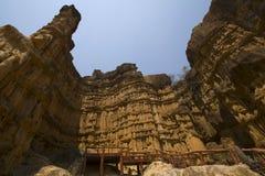 Место каньона Pha Chor чудесное в Chiangmai, Таиланде Стоковые Изображения