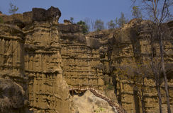 Место каньона Pha Chor чудесное в Chiangmai, Таиланде Стоковое фото RF
