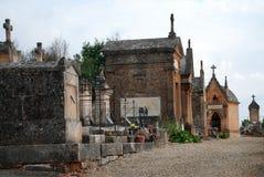 место кладбища старое Стоковое Изображение RF