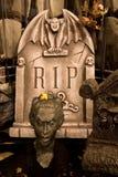 место кладбища страшное стоковое изображение