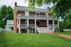 Место конца гражданской войны - 2 сдачи †дома Mclean « стоковые изображения