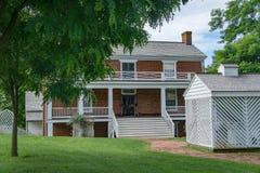 Место конца гражданской войны - 4 сдачи †дома Mclean « Стоковая Фотография