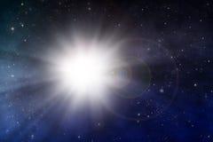 Место космоса взрыва стоковая фотография rf