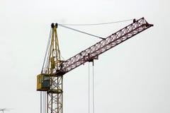 место крана конструкции здания Стоковая Фотография
