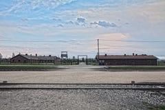 Место куда пленники получили с поезда Барак Канада S Стоковые Фотографии RF
