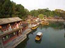 Место лета в городе Пекина Перемещение в городе Пекина, Китае Стоковое Фото