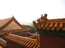 Место лета в городе Пекина Перемещение в городе Пекина, Китае Стоковое Изображение RF