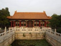 Место лета в городе Пекина Перемещение в городе Пекина, Китае Стоковые Изображения RF