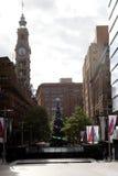 Место Мартина рождественской елки @, Сидней, Австралия Стоковые Изображения