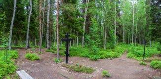 Место массовых захоронений тех подавленных в †1920 «193 Стоковые Фотографии RF