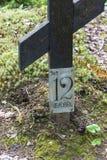 Место массовых захоронений тех подавленных в †1920 «193 Стоковые Фото