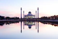 Место мечети исламское Стоковая Фотография