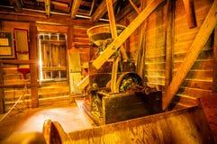 Место мельницы Hagood историческое в Южной Каролине Стоковые Изображения