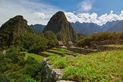 Место наследия ЮНЕСКО picchu Machu Стоковое Фото