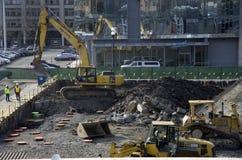Место нового строительства Стоковые Фотографии RF