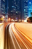 Место ночи города Шанхая Стоковое Фото