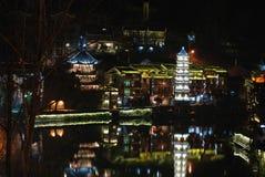 Место ночи города Феникса стародедовское Стоковая Фотография RF
