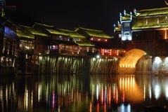 Место ночи города Феникса стародедовское Стоковое Изображение RF