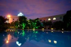 Место ночи гостиницы Стоковые Фотографии RF