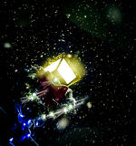 Место ночи Кристмас Стоковые Фотографии RF