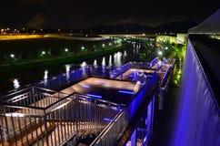 Место ночи на парке природы Стоковое фото RF