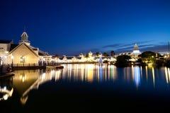 место ночи озера Стоковое Фото