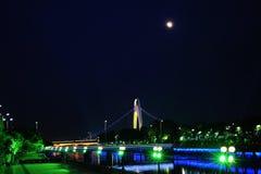 Место ночи реки перлы Стоковые Изображения RF