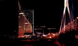 место ночи Стоковое Изображение RF