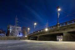 место ночи citycape Стоковое фото RF