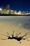 место ночи citycape Стоковая Фотография RF