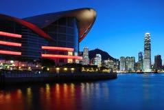 место ночи Hong Kong стоковые изображения