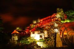 Место ночи Lijiang Стоковые Изображения