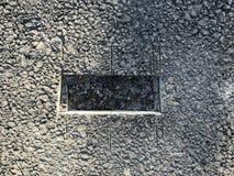 Место образца покрытия асфальта конкретного kern Стоковая Фотография RF