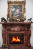 Место огня Стоковые Фото