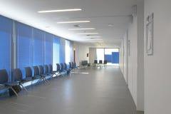 Место ожидания общественного здания Деталь интерьера больницы никто стоковое фото rf