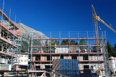 место дома конструкции здания новое Стоковые Фотографии RF