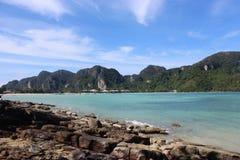Место острова в острове Phuket Стоковые Изображения RF