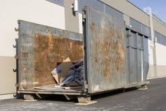место отброса контейнера конструкции промышленное Стоковое фото RF