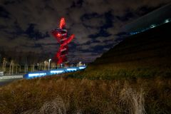 Место Олимпиад Лондона Стоковое фото RF